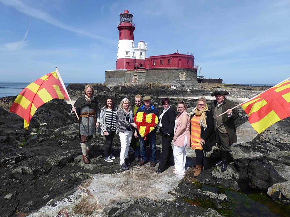 Northumberland Day 2018  Launches On Grace Darling's Island